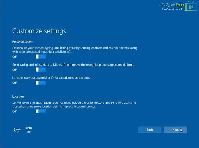 تحميل ويندوز 10 النسخة النهائية من مايكرسوفت