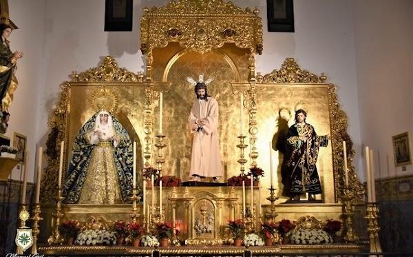 San Gonzalo expondrá a sus titulares a la veneración el Lunes Santo de Sevilla
