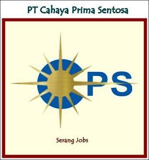Lowongan Kerja Operator PT Cahaya Prima Sentosa (CPS) Cikarang Terbaru