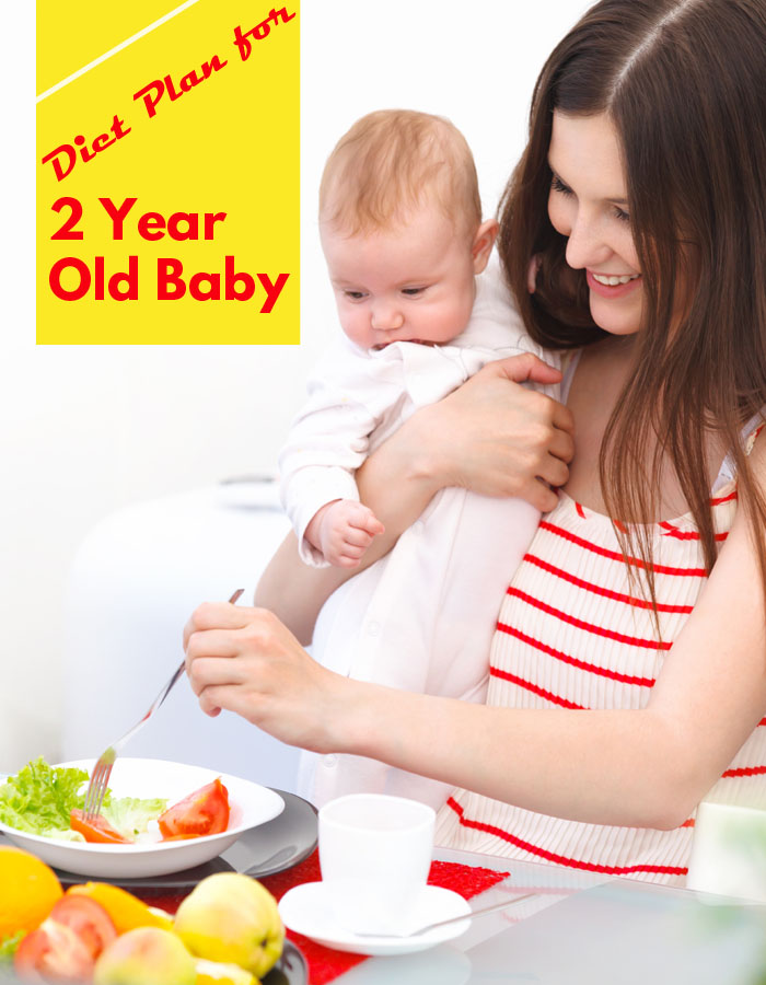 Diet Plan for 2 Year Old Baby