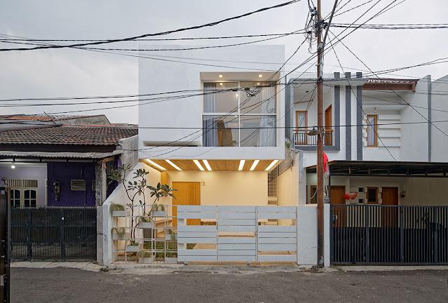 Desain Kantilever Rumah Type 30