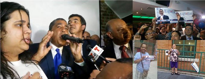 Dominicanos hacen historia en NY eligiendo a Espaillat su primer congresista en Washington