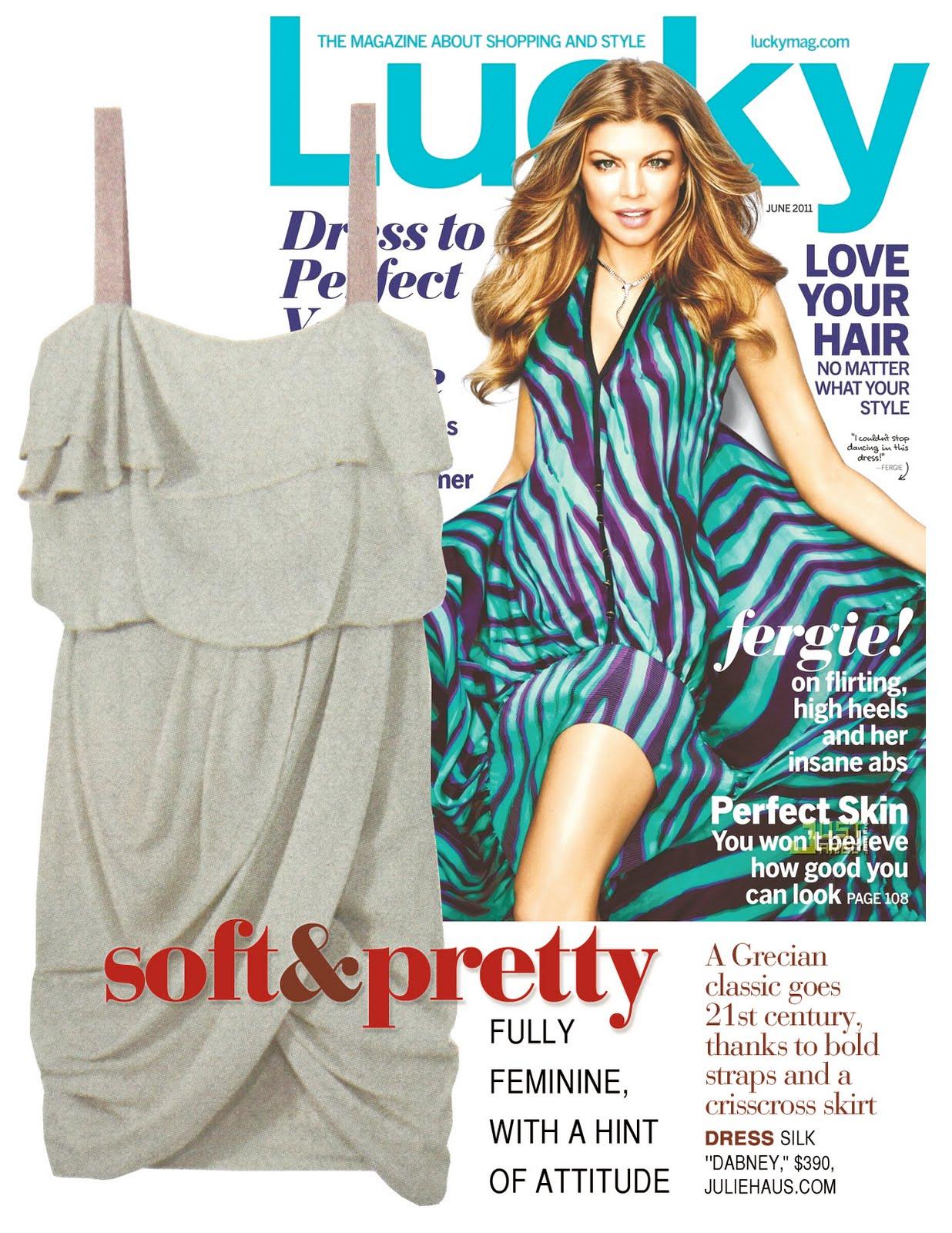 Lucky Magazine May 11: The Globe Showroom: June 2011