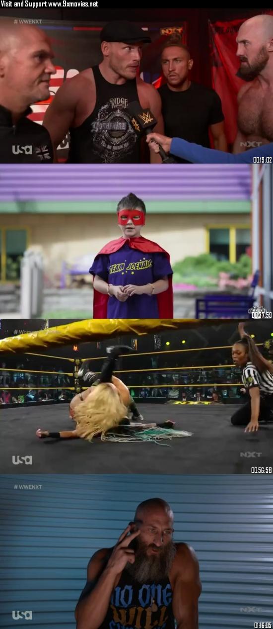 WWE NXT 07 September 2021 WEBRip 480p 350MB