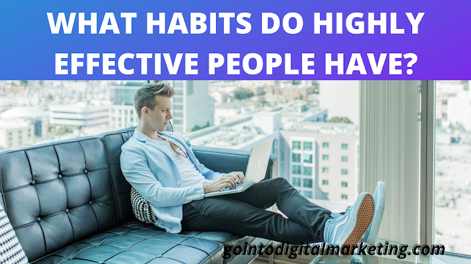 What Habits do Highly Effective People have?