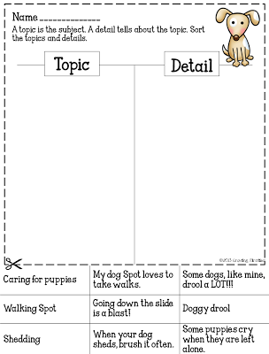 Topic or Detail Sort