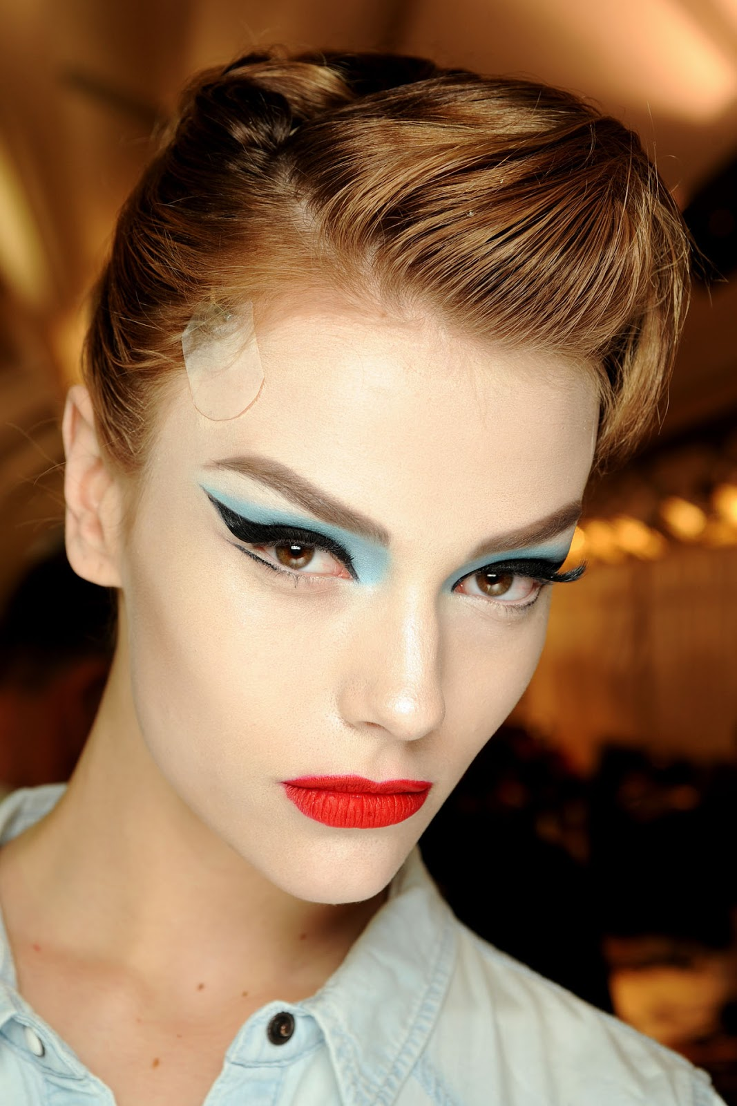 Make Up Fashion And 50 Shades Of Pink: Elegance Makeups: Fashion And Catwalk Makeup