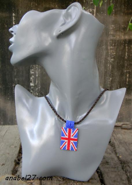 кулон английский флаг union jack