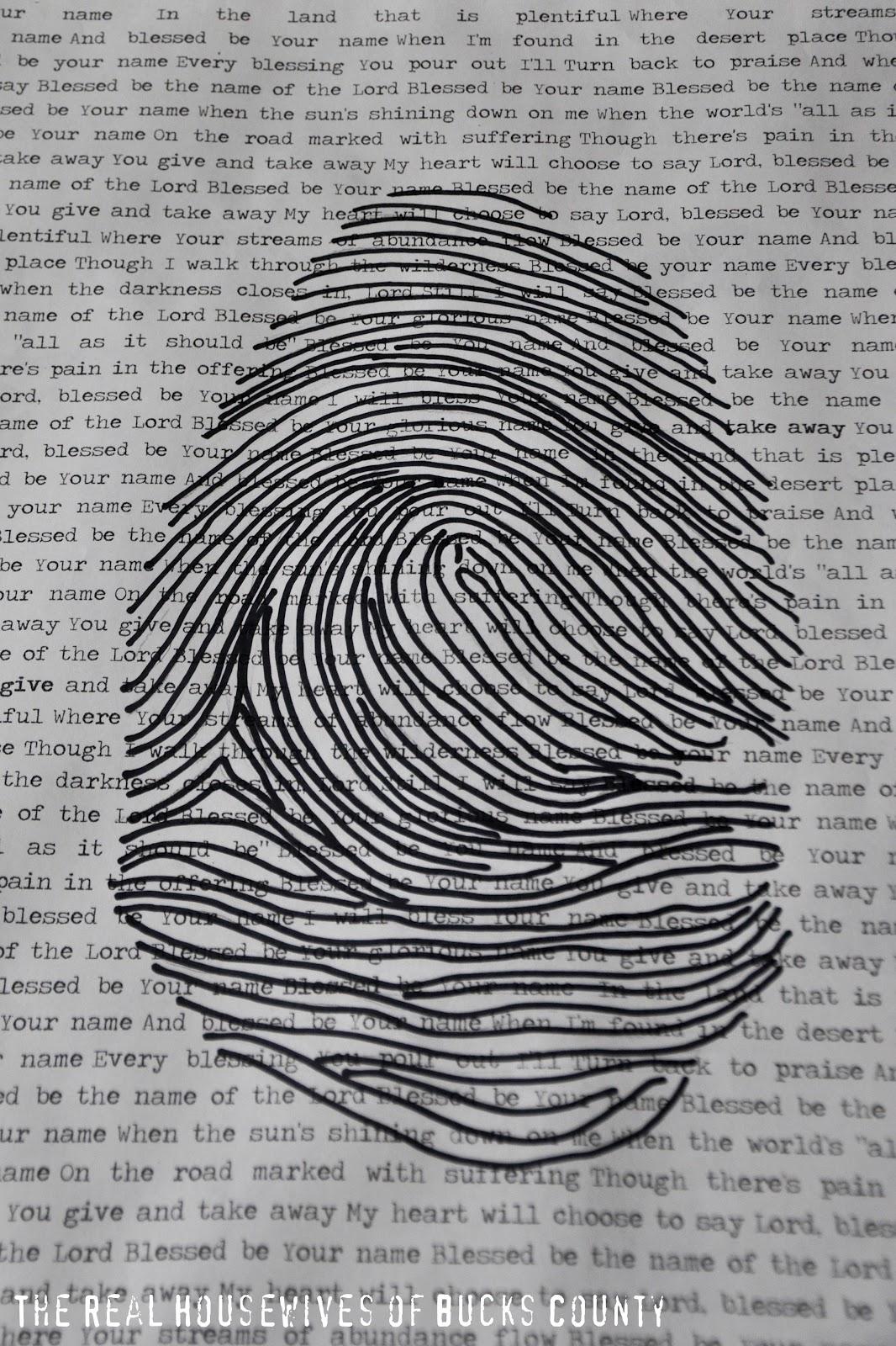 Fingerprint Artwork Meaningful Art