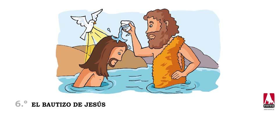 El bautizo de Jesús