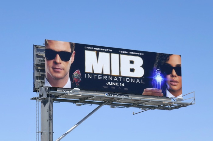 MIB International film billboard