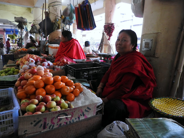 Khwairamband Bazar , Imphal, Manipur, India, northeast, women, bazar, fruit, market, wholesale