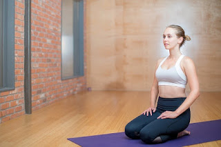 Zen Posture (Vajrasana)