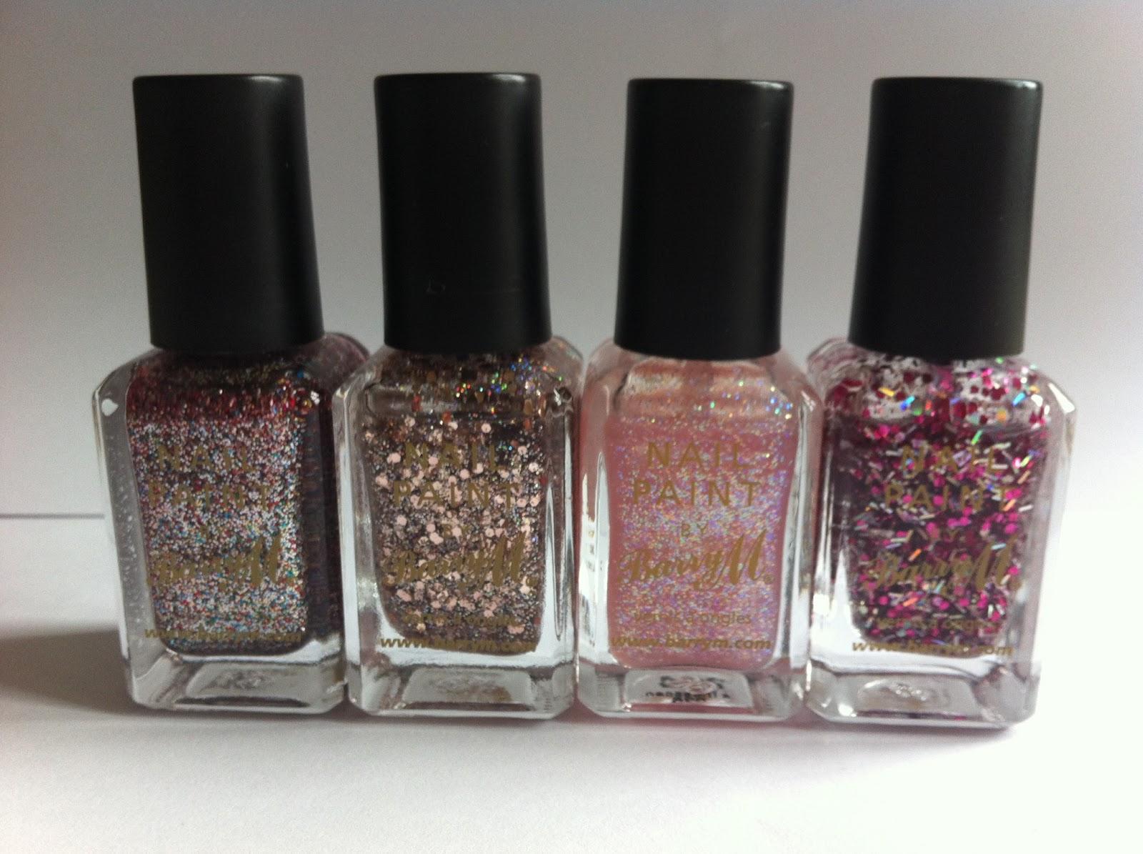 Beauty Box Glitter Nail Varnish Collection