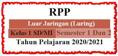 RPP Luring Kelas 1 Terlengkap K13 Edisi 2020