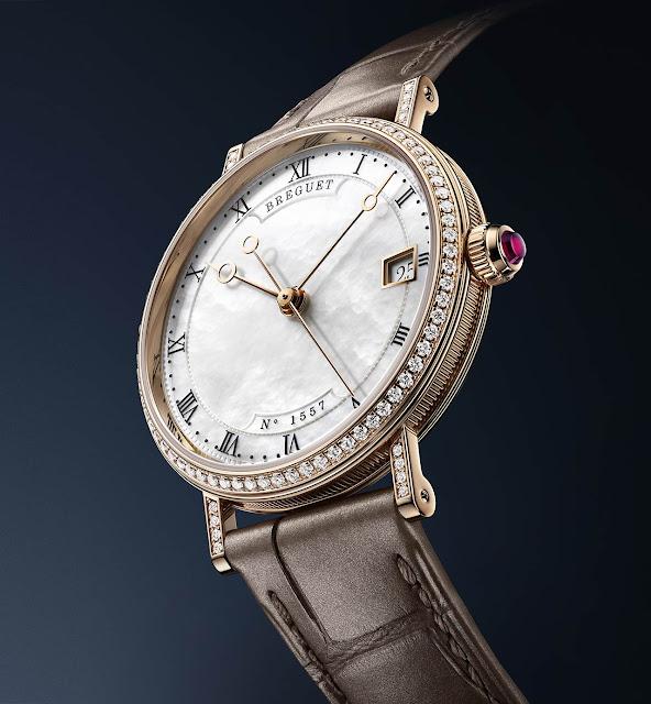 Breguet Classique 9068 mother of pearl 9068BR/52/976/DD00