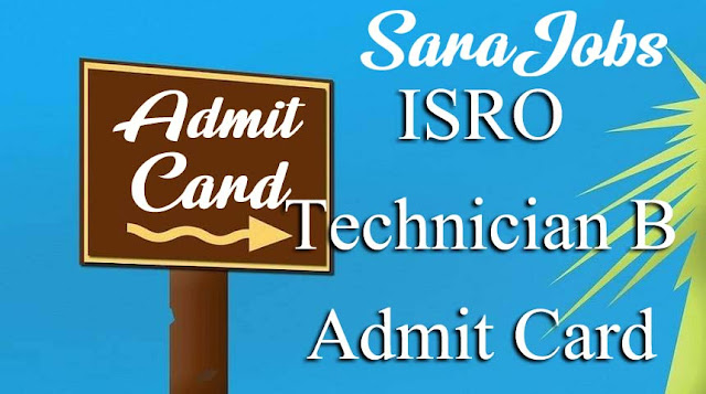 ISRO URSC Admit Card 2020