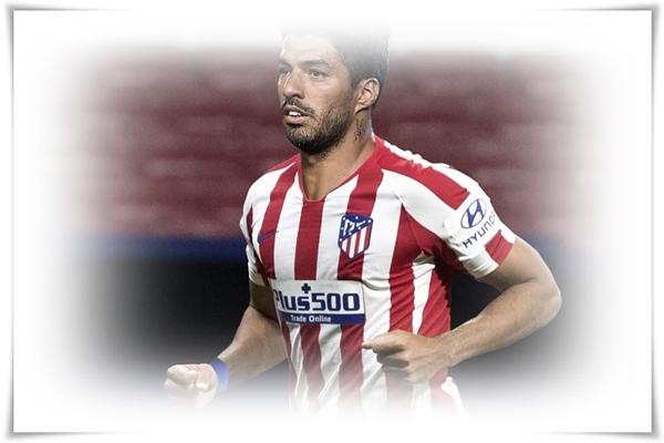 Luis Suarez signed a contract with Atlético de Madrid