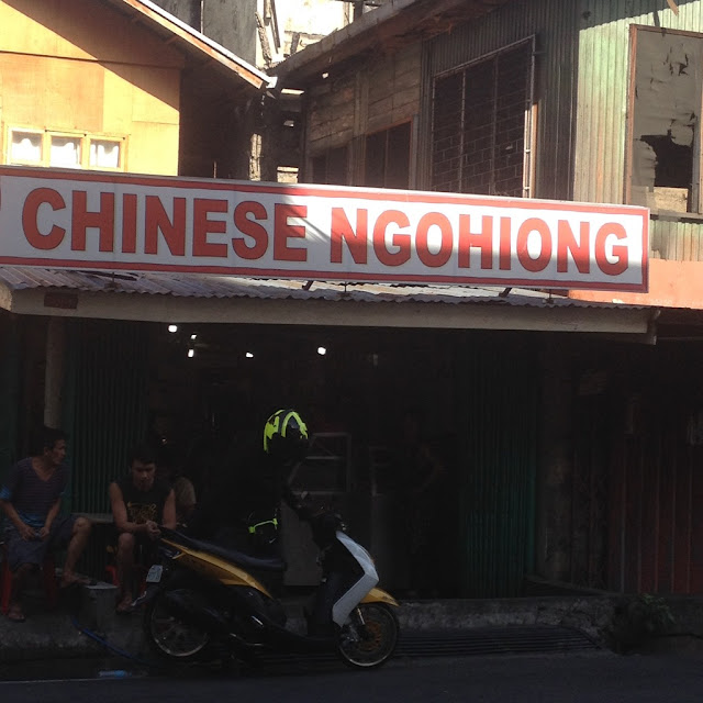 Chinese ngohiong store