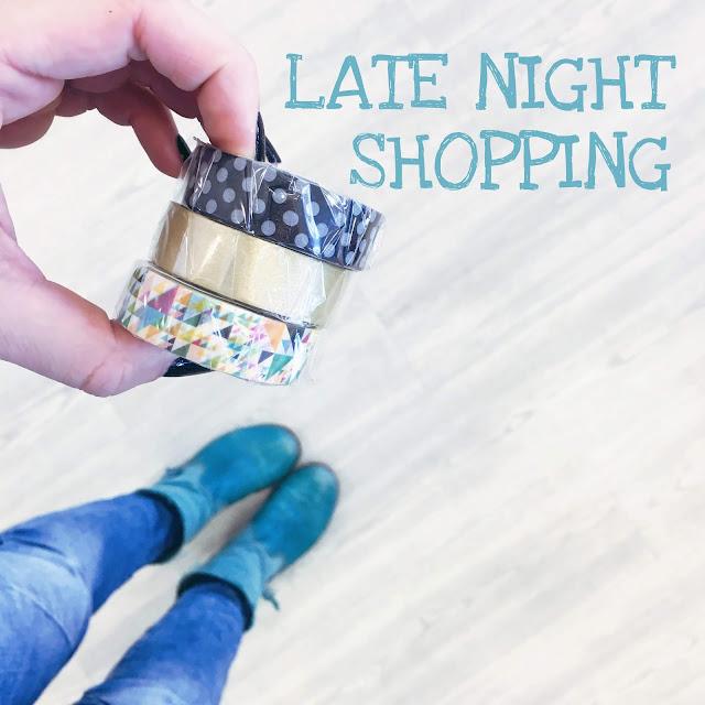 GrinseStern, Late Night Shopping, GrinseStern der Laden, Stoffladen
