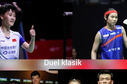 Jadwal Final Malaysia Masters 2020, Duel klasik Tunggal putri dan Ganda Campuran