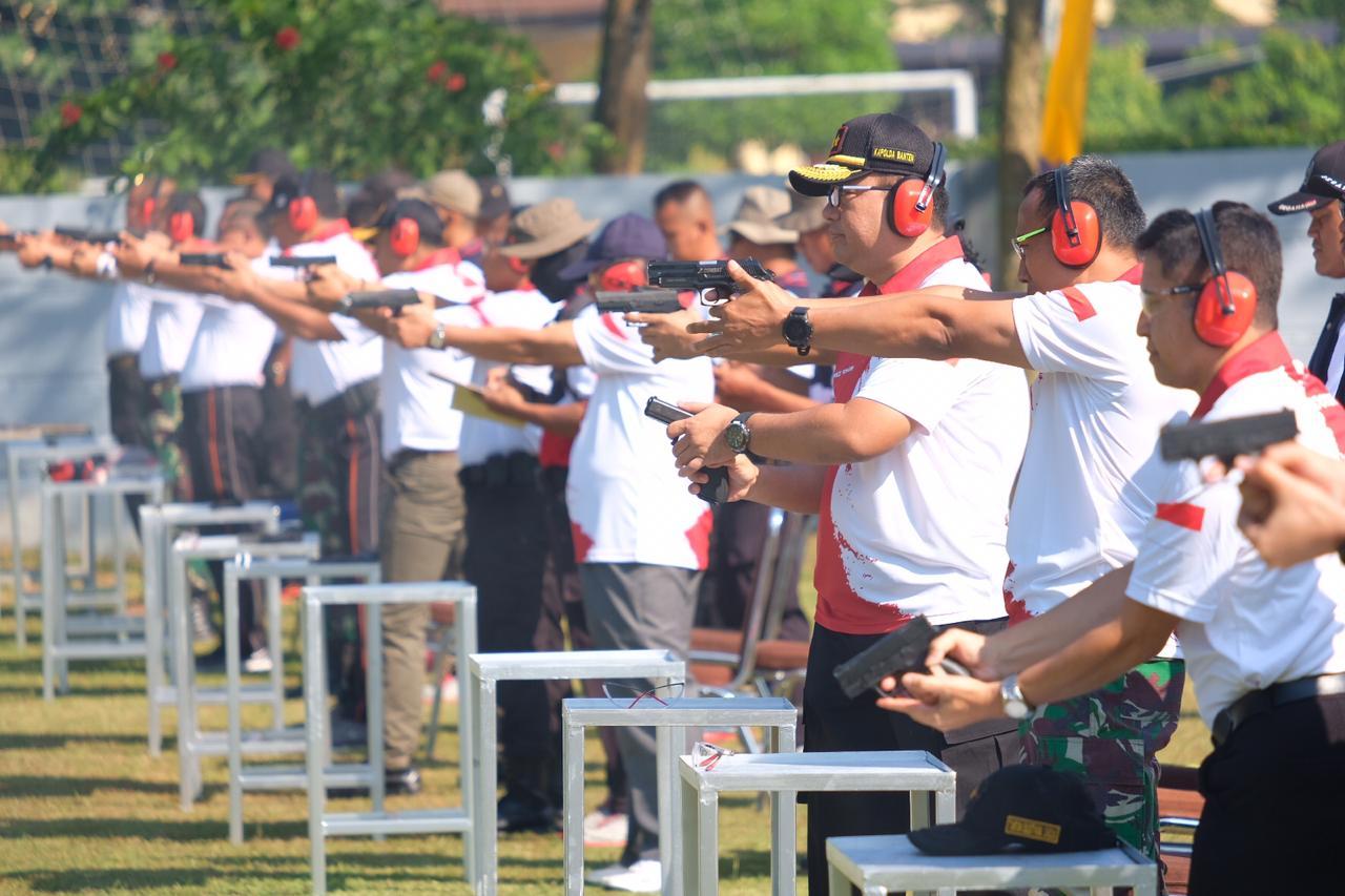 Kapolda Banten Buka Kejuaraan Menembak Kapolda Banten Open 2019