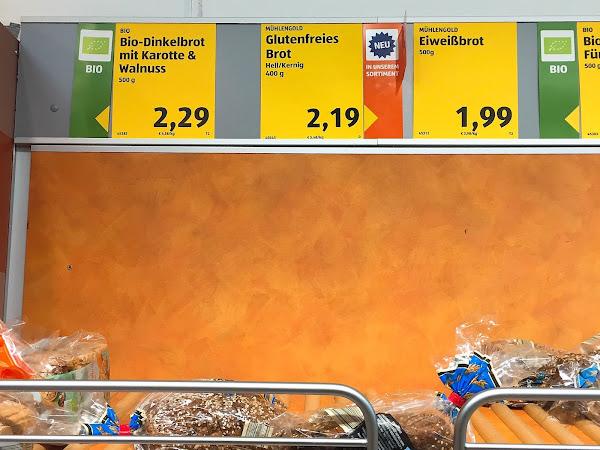 glutenfreies Brot ab jetzt auch dauerhaft bei ALDI Süd