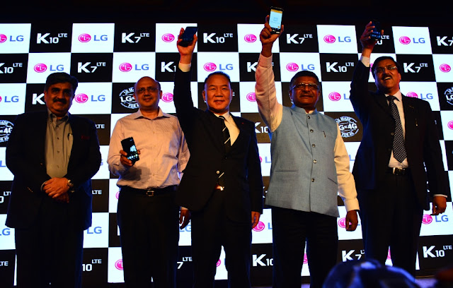 LG launches its first made-in-india smartphones K7 and K10 for Rs. 9500 and Rs. 13500 respectively