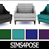 Download Sims 4 Pose: Hamptons Hideaway Armchair ZigZag