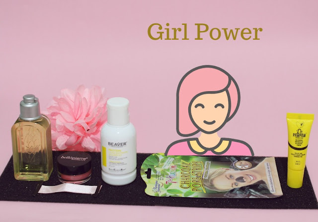 Birchbox Octubre Girl Power