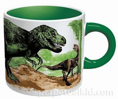Disappearing Dinosaurs Heat Changing Cup