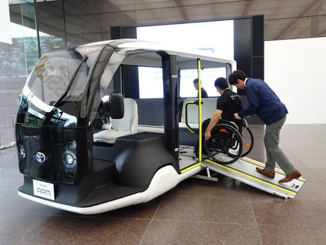 تويوتا تكشف عن سيارتها الكهربائية الحديثة APM