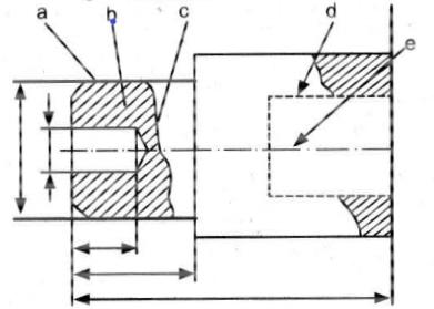 latihan soal gambar teknik mesin