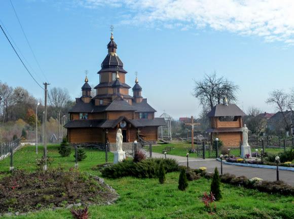 Жидачів. Церква Бориса і Глеба