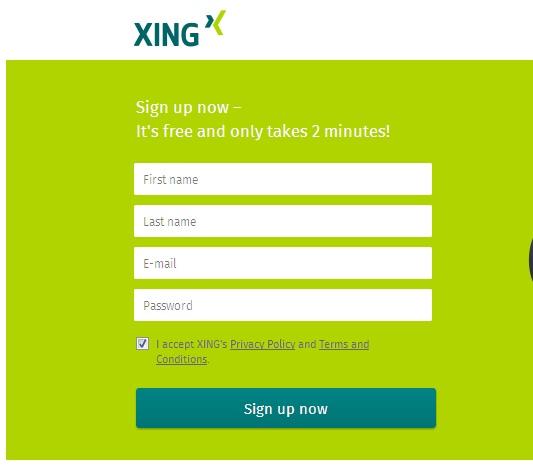 Cara Mendapatkan Backlink Dofollow PR 8 Dari Situs Xing.com