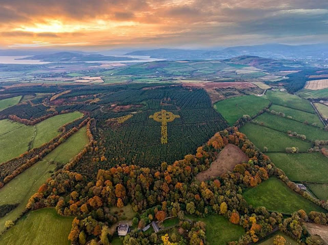 https://www.irishcentral.com/roots/history/the-amazing-origins-of-a-giant-celtic-cross-shape-in-a-donegal-forest-video