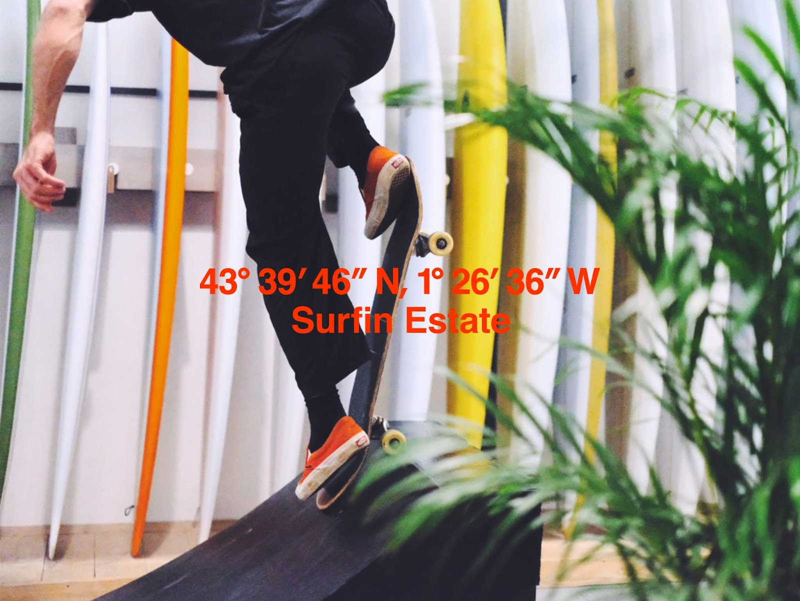 Surfinestate brand apparel clothing surf surfboard shape handshape behind skateboarding skateboard Alberto scattolin Vincent Lemanceau Arthur Nelli exhibition gallery culture design photography