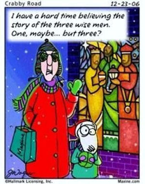Plowing Through Life: Maxine Christmas Cartoons (Part 1)