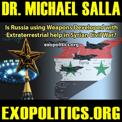 Putin and ET Alliances | Is Russia using weapons developed with extraterrestrial help in Syrian Civil War?