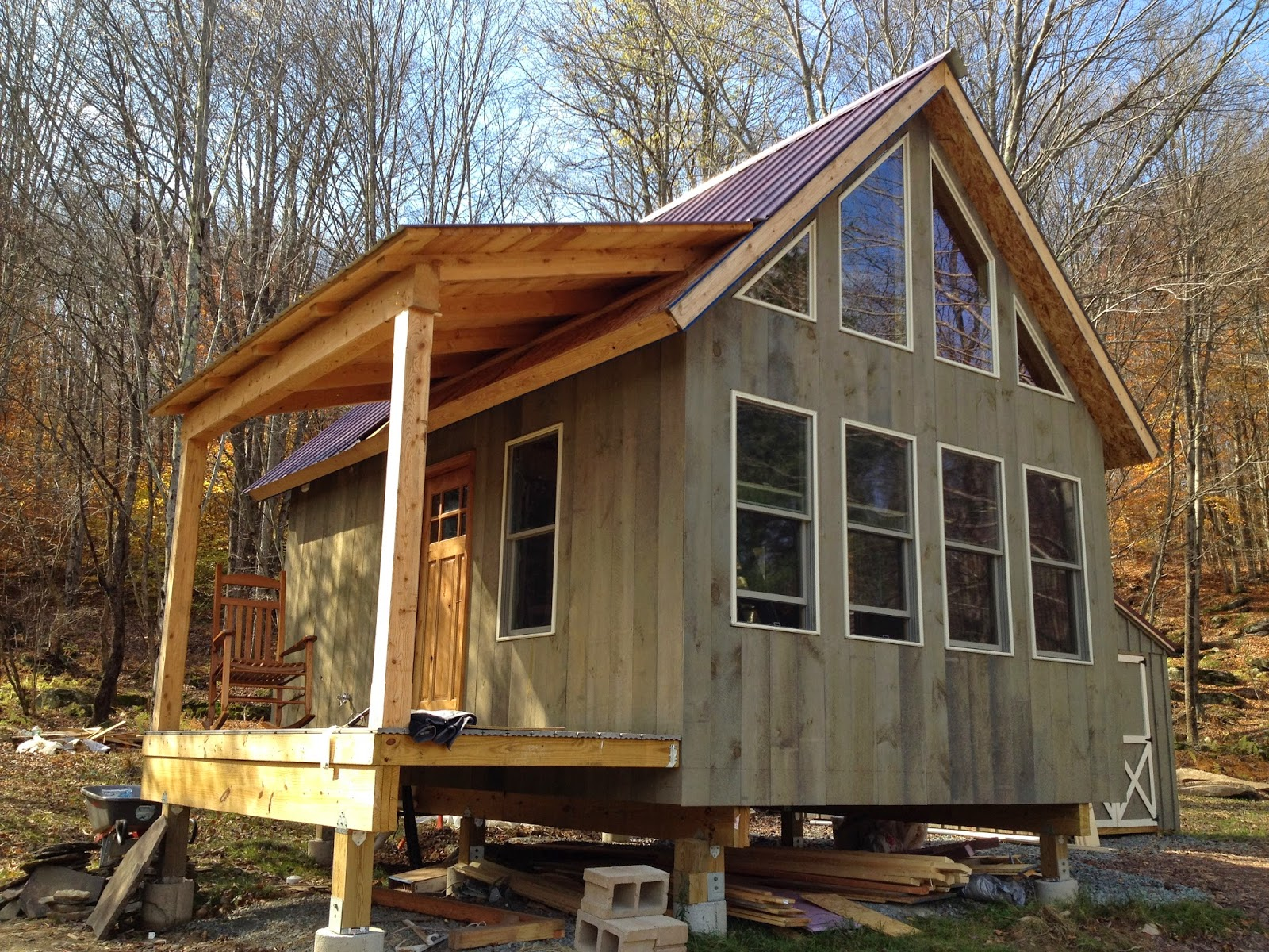 Adam And Karen S Tiny House In Equinunk Pa