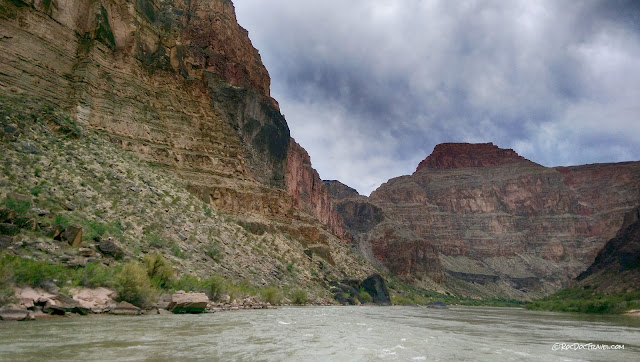 Grand Canyon rafting geology trip travel National Park Arizona copyright rocdoctravel.com