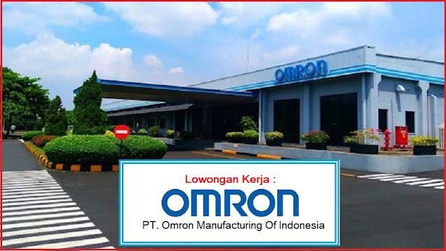 Kesempatan Karir PT Omron Manufacturing Of Indonesia Dengan Posisi Operator Produksi Lulusan SMA, SMK, Sederajat Bulan Oktober 2019