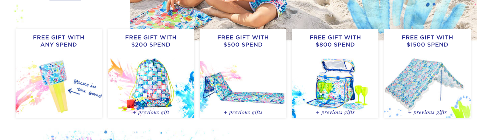 Every gift is awesome and so useful for summer. I'm hoping my Lilly box will arrive today, and if it does, I'll be sure to share everything that's in it ...