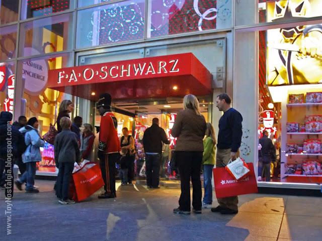 Entrada a la juguetería F.A.O. Schwarz Playmobil 5957. Soldado F.A.O. Schwarz 150 aniversario (2012)
