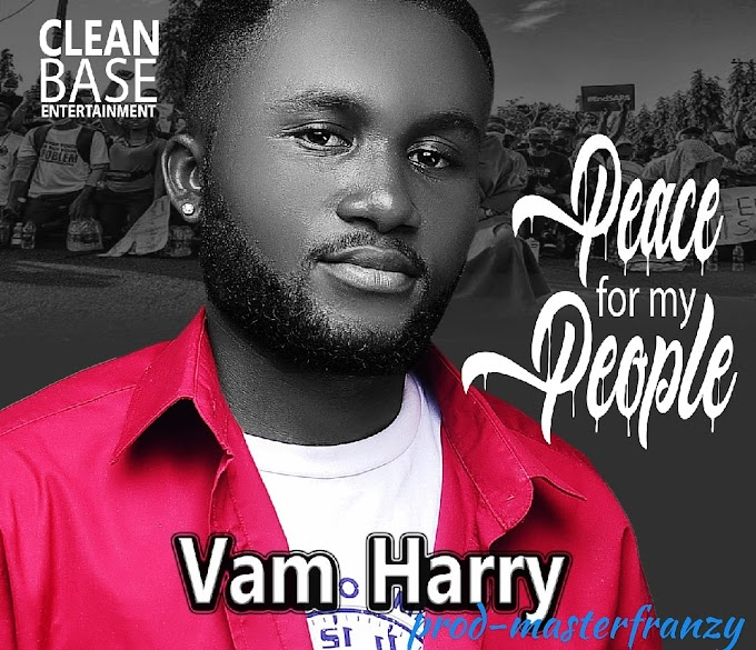 [MUSIC] vam HARRY – Peace 4 My People (Prod. Master Franzy)
