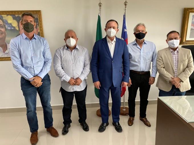 ALDEIAS ALTAS - Prefeito Kedson Lima e empresários se reúnem com Governo do Estado em São Luís
