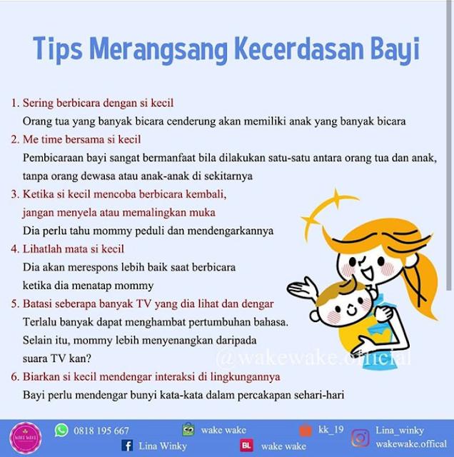 Tips Merangsang Kecerdasan Bayi