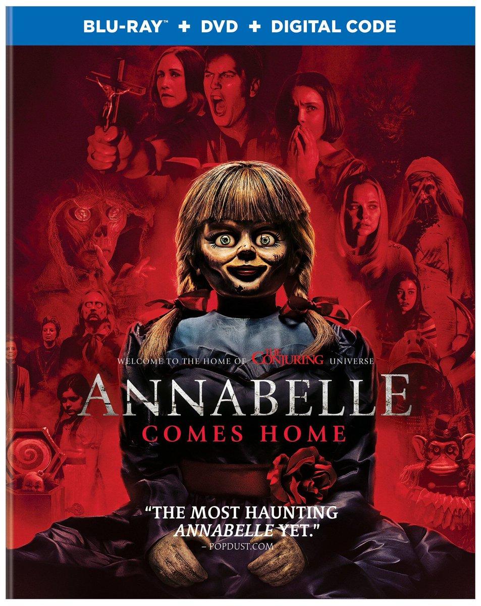 Annabelle 3 Viene A Casa 1080p Cover Caratula
