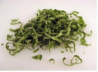 Potongan sayuran chiffonade - berbagaireviews.com