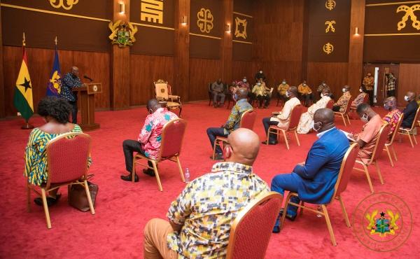President Akufo-Addo Calls For Truthful & Accurate Covid-19 Media Reportage